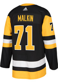 Evgeni Malkin Pittsburgh Penguins Adidas 2017 Home Hockey Jersey - Black