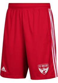 FC Dallas Adidas One Color Icon Shorts - Red