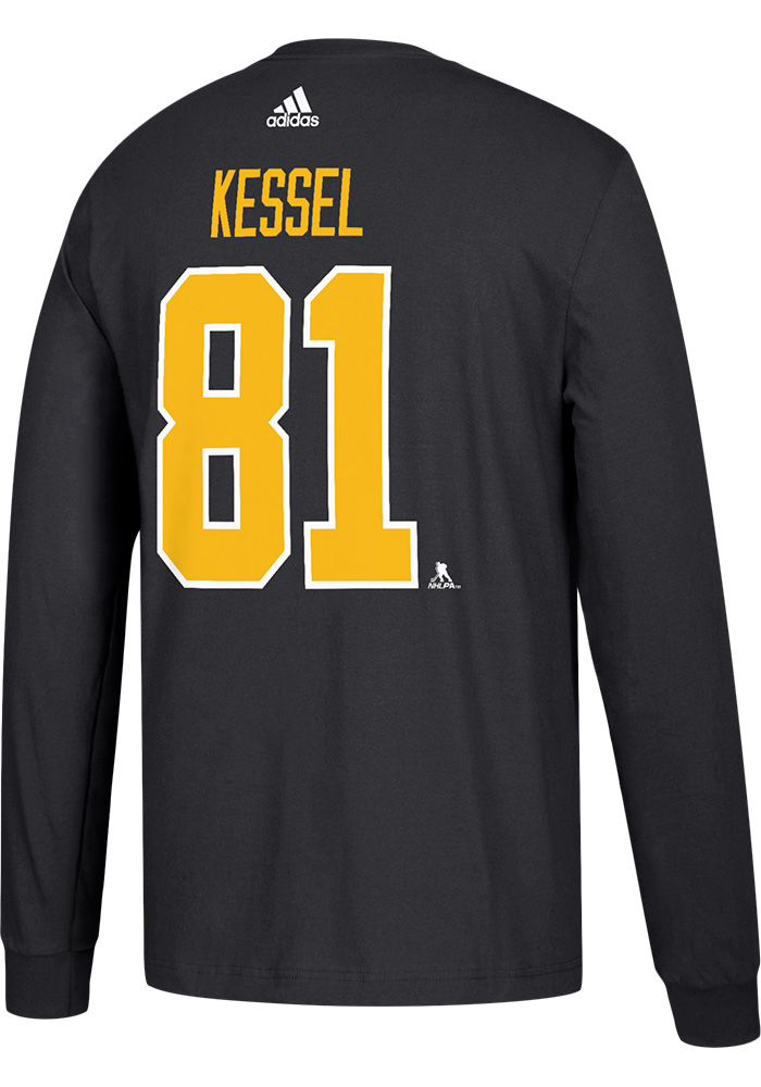 official photos d8b20 44af2 Phil Kessel Pittsburgh Penguins Black Play Long Sleeve Player T Shirt