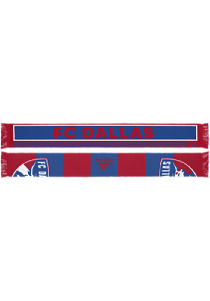 FC Dallas Adidas 2018 Authentic Scarf - Red