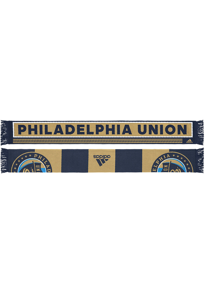 Philadelphia Union Adidas 2018 Authentic Scarf - Navy Blue