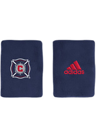 Chicago Fire Adidas 4in Terry Wristband - Navy Blue