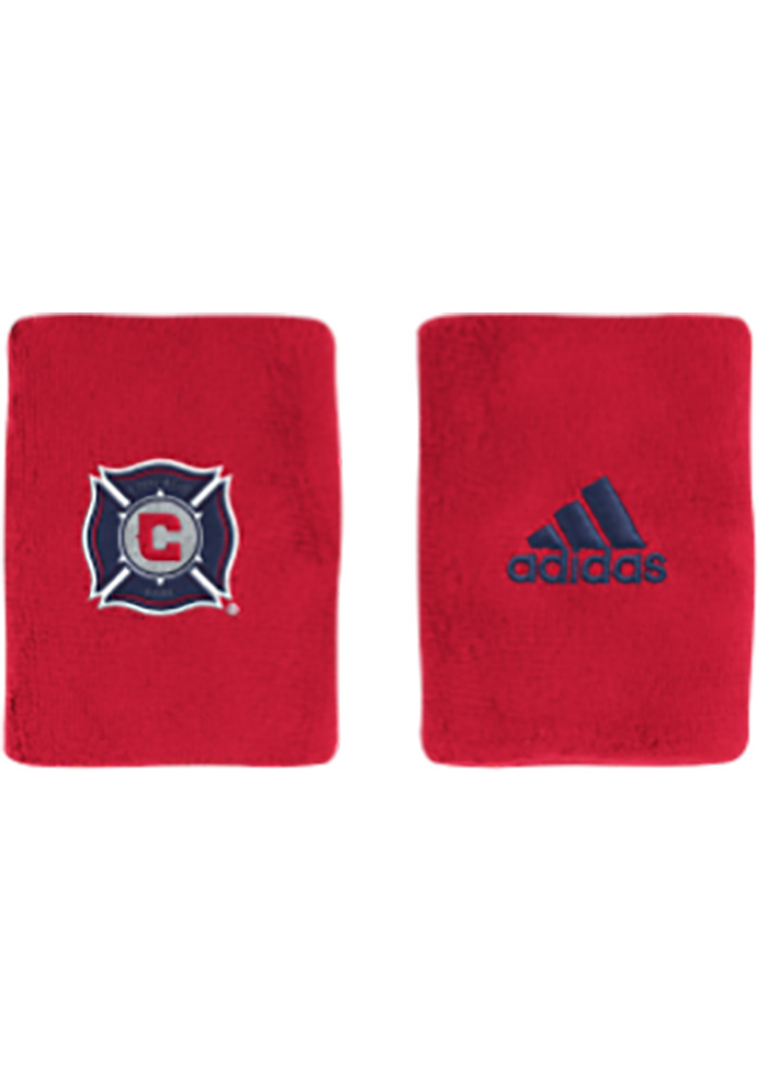 Chicago Fire Adidas 4in Terry Wristband - Red
