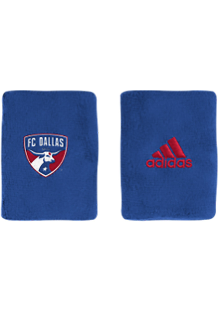 Adidas FC Dallas 4in Terry Mens Wristband - Image 1