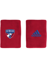 FC Dallas Adidas 4in Terry Wristband - Red