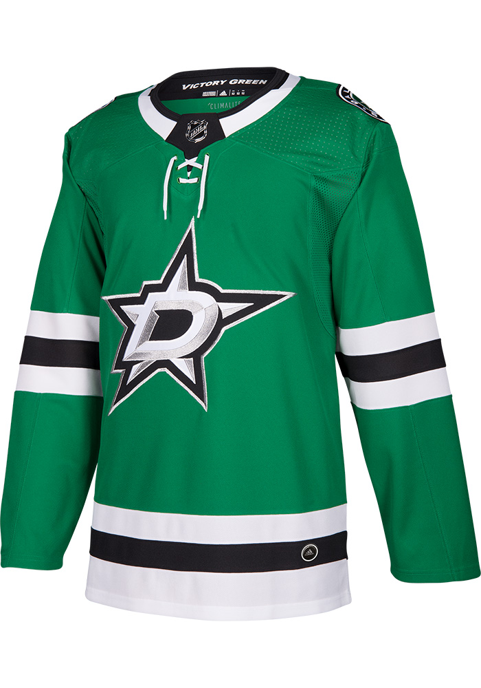 Dallas Stars Adidas Home Authentic Hockey Jersey - Green
