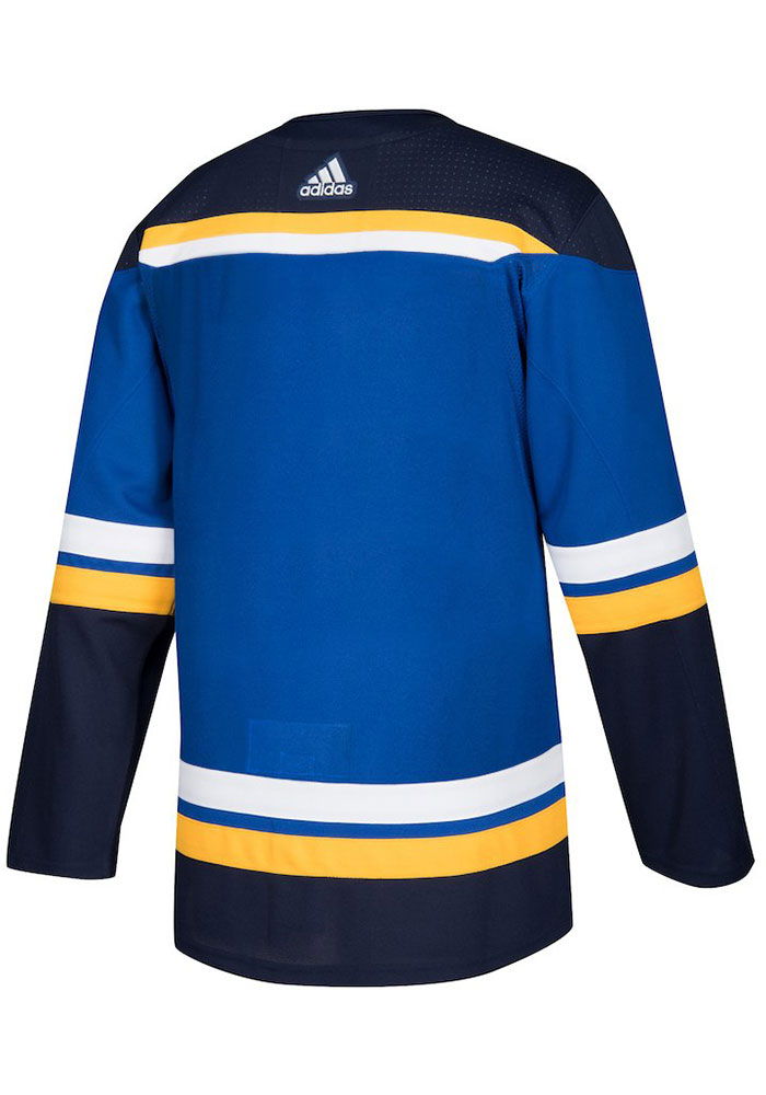 St Louis Blues Mens Blue Home Hockey Jersey - Image 2