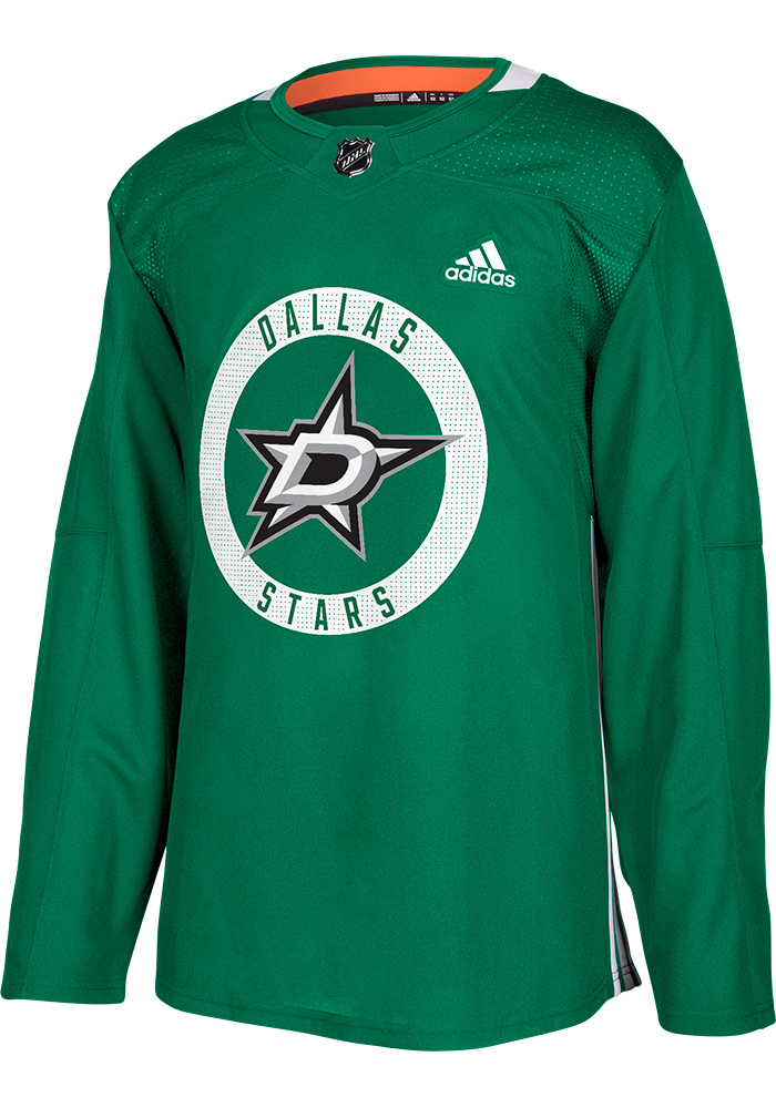 dallas stars mens green practice hockey jersey image 1