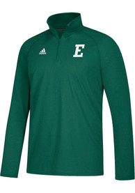Eastern Michigan Eagles Adidas Sideline Definition 1/4 Zip Pullover - Green