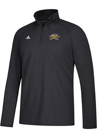 Northern Kentucky Norse Adidas Sideline Definition 1/4 Zip Pullover - Black