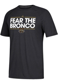 Western Michigan Broncos Adidas Dassler T Shirt - Black