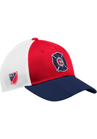 Chicago Fire Adidas 2018 Authentic Structed Meshback Adjustable Hat - Red