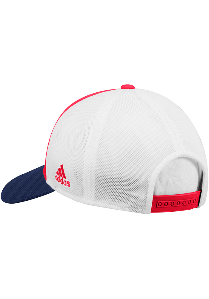 Adidas Chicago Fire 2018 Authentic Structed Meshback Adjustable Hat - Red - Image 2