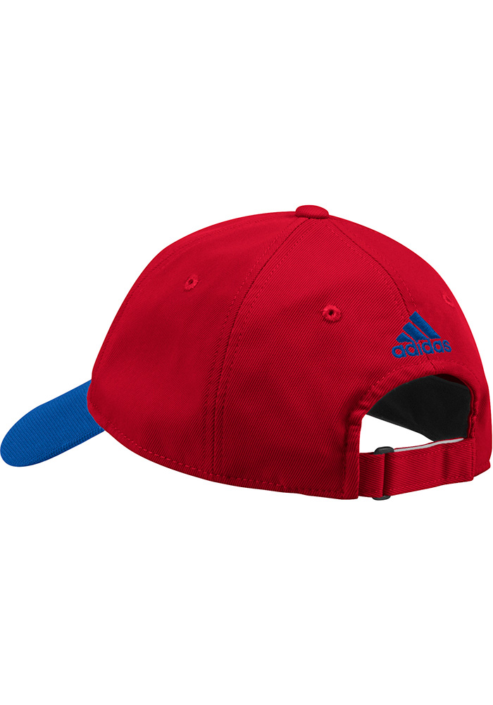 Adidas FC Dallas 2018 Authentic Slouch Adjustable Hat - Red - Image 2