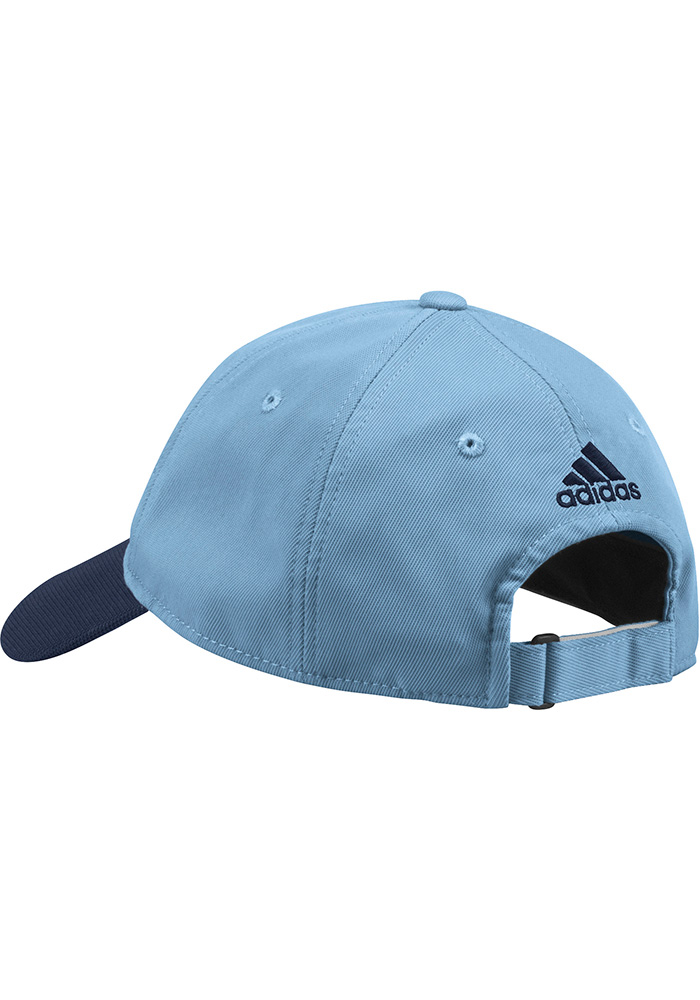 Adidas Sporting Kansas City 2018 Authentic Slouch Adjustable Hat - Light Blue - Image 2