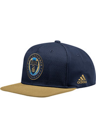 Philadelphia Union Adidas 2018 Authentic Snapback - Navy Blue