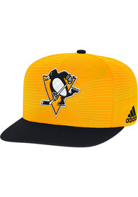 Pittsburgh Penguins Adidas Sublimated Snapback - Gold