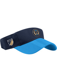 Philadelphia Union Adidas 2018 Authentic Adjustable Visor - Red