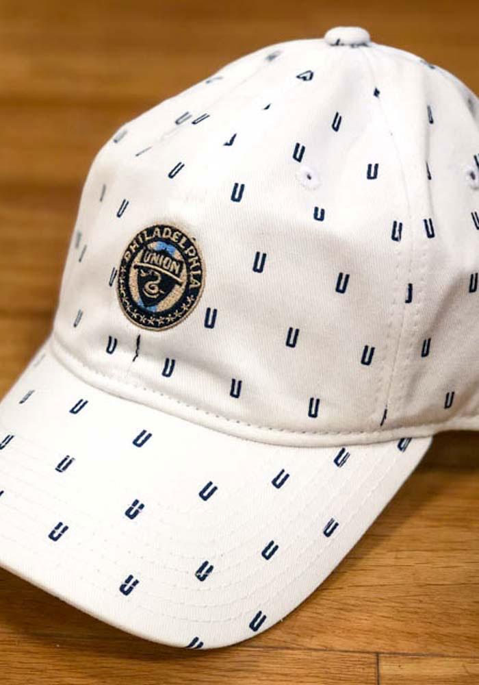 Adidas Philadelphia Union White All Over Womens Adjustable Hat - Image 3