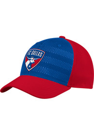FC Dallas Adidas 2018 Authentic Structured Flex Hat - Red