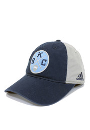 Adidas SKC Mens Navy Blue Patch Adjustable Hat
