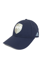 Adidas SKC Mens Navy Blue Argyle Shield Flex Hat