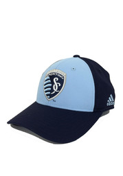 Adidas SKC Mens Navy Blue Fronted Adjustable Hat