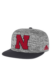 Adidas Nebraska Grey 2016 Player Snapback Hat