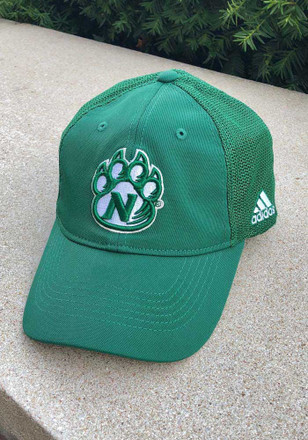 Adidas Northwest Missouri State Bearcats Mens Green 2016 Coach Mesh Back Flex Hat