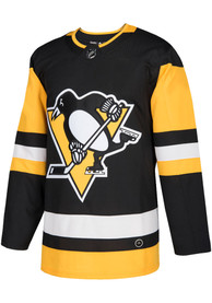 Pittsburgh Penguins Adidas Blank Hockey Jersey - Black