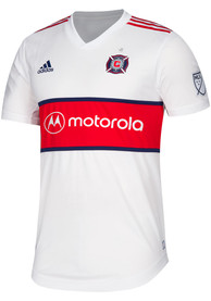 Chicago Fire Adidas 2019 Secondary Authentic Soccer - White