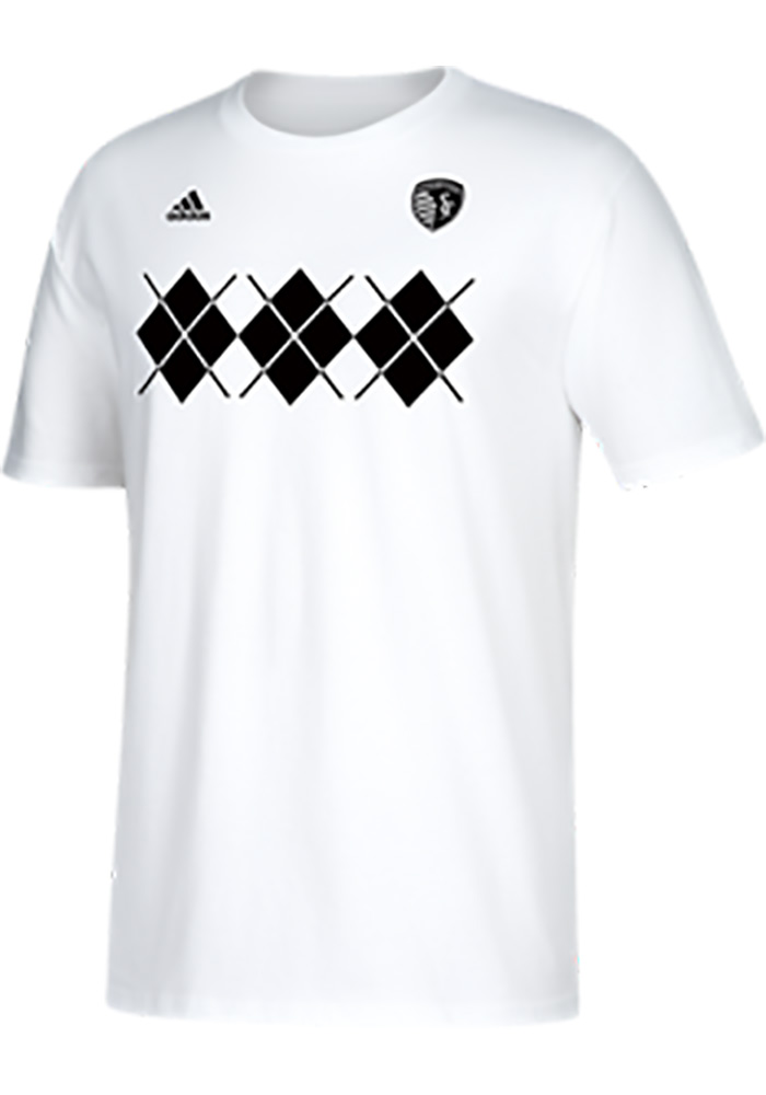Adidas Sporting Kansas City White Hook Up Tee
