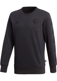 Sporting Kansas City Adidas Tango Crew Fashion Sweatshirt - Black