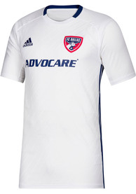 FC Dallas Adidas 2019 Secondary Replica Soccer - White