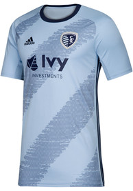 Sporting Kansas City Adidas 2019 Primary Replica Soccer - Navy Blue