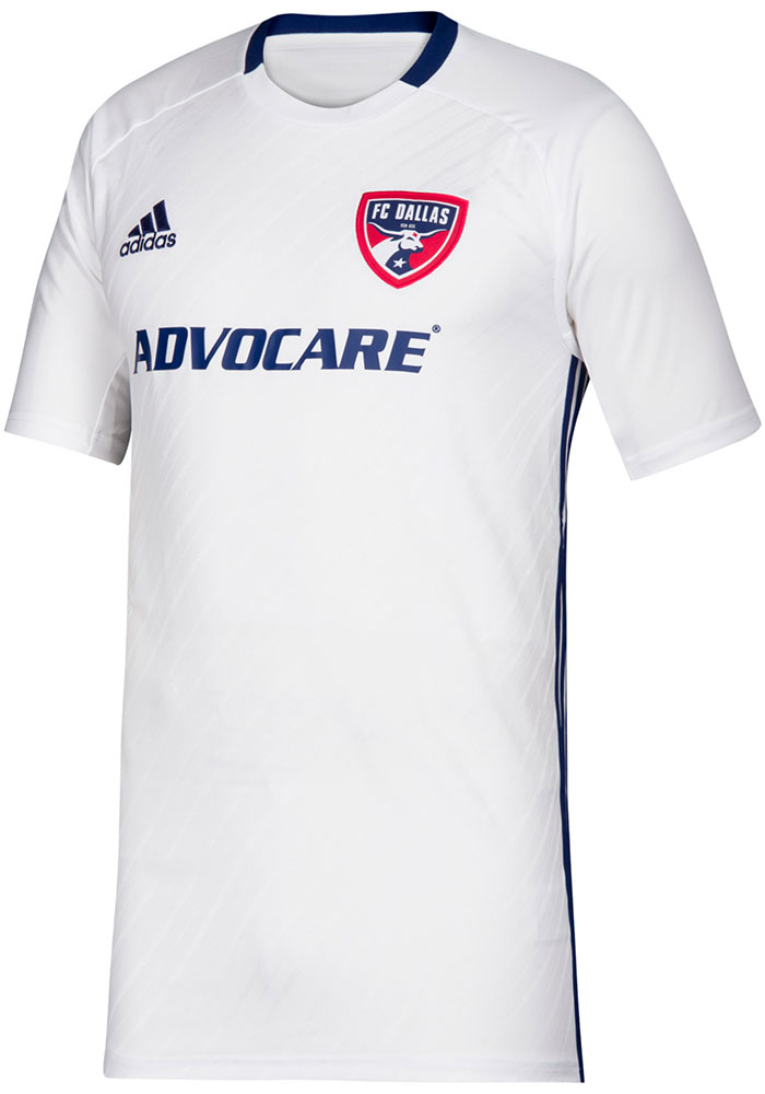 outlet store 61699 75ebb Adidas FC Dallas Youth Blue 2019 Secondary Soccer Jersey