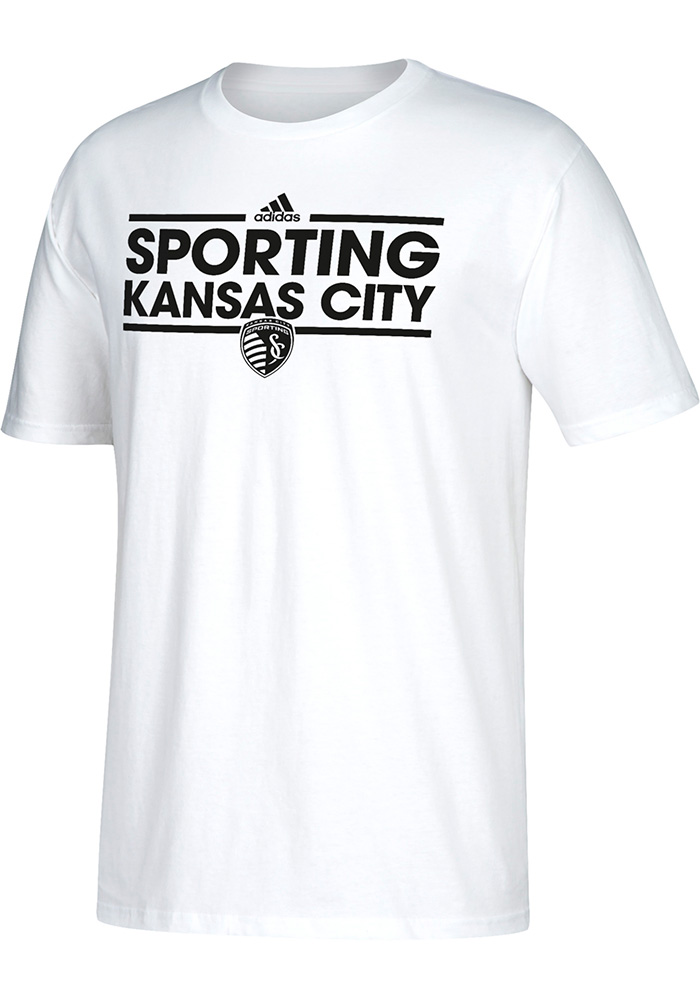 Adidas Sporting Kansas City White Dassler 1 Tee