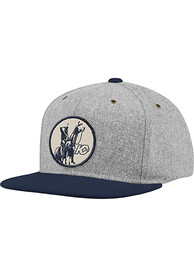 Kansas City Scouts Adidas Melton Wool Snapback - Grey