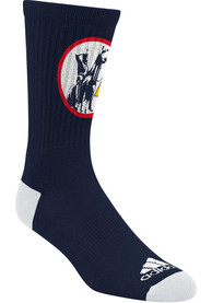 Kansas City Scouts Adidas STR Crew Socks - Navy Blue