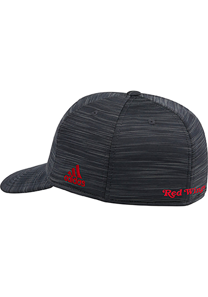 Adidas Detroit Red Wings Mens Black Heathered Span Flex Hat - Image 2