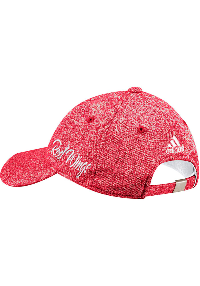 Adidas Detroit Red Wings Red Heathered Slouch Womens Adjustable Hat - Image 2