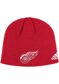 Detroit Red Wings Adidas Basic Knit - Red