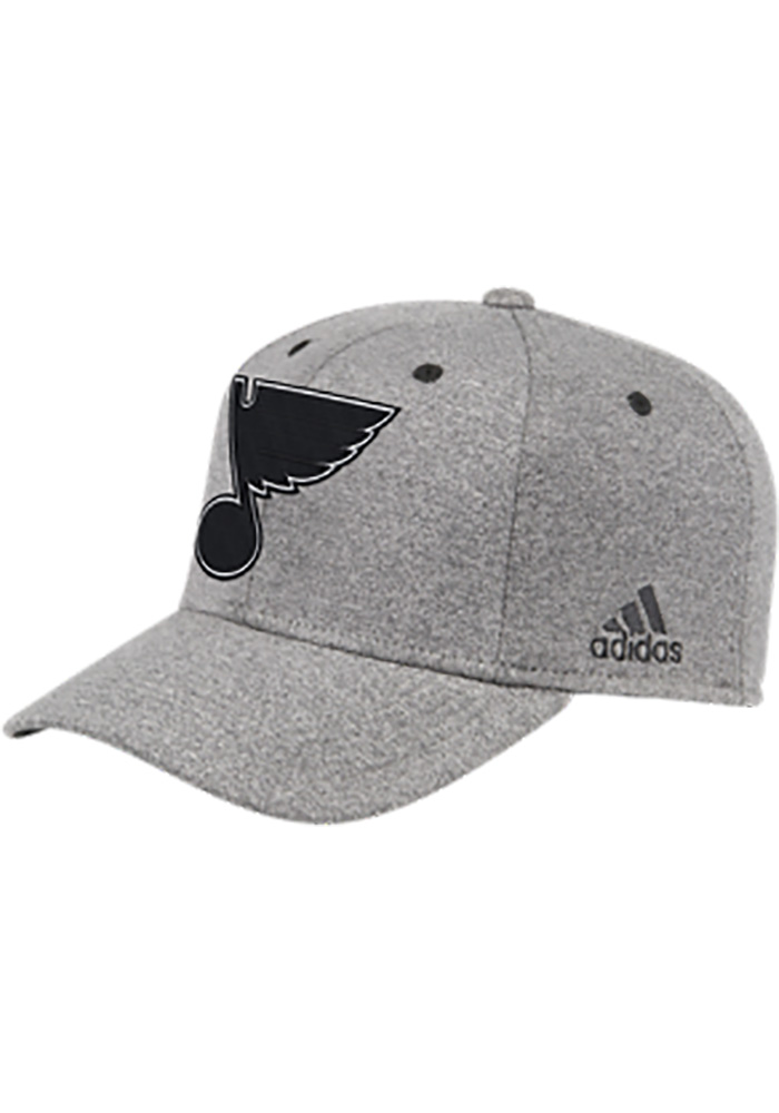 brand new 1beb3 a2ef5 ... coupon code adidas st louis blues black press conference flex hat 12350  01089