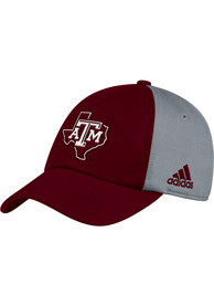 Texas A&M Aggies Adidas 2018 Sideline Slouch 2T Adjustable Hat - Maroon