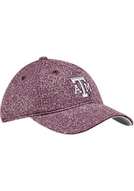Texas A&M Aggies Womens Adidas Heathered Slouch Adjustable - Maroon