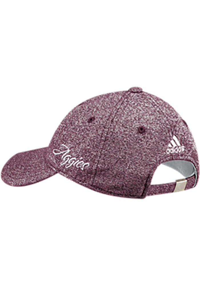 Adidas Texas A&M Aggies Maroon Heathered Slouch Womens Adjustable Hat - Image 2