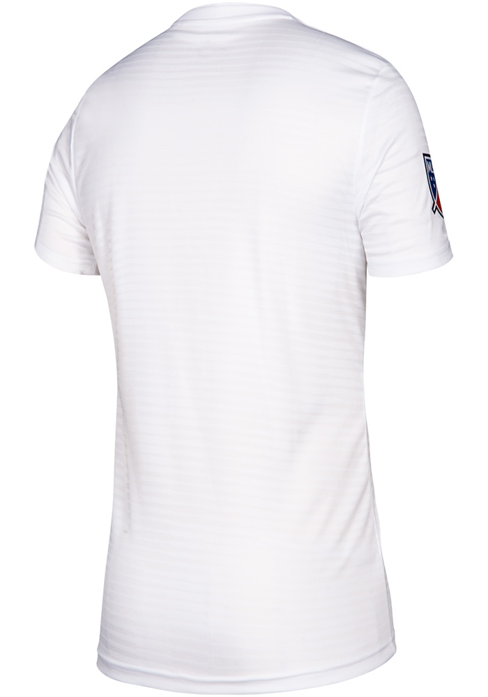 Adidas FC Cincinnati Youth White 2019 Secondary Soccer Jersey - Image 2