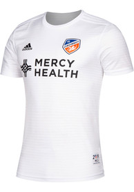 FC Cincinnati Adidas 2019 Secondary Replica Soccer - White
