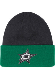 Dallas Stars Adidas Sport Cuff Knit - Black