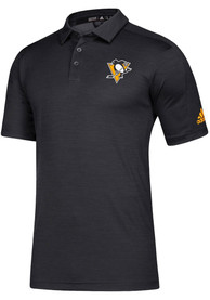Pittsburgh Penguins Adidas Game Mode Polo Shirt - Black